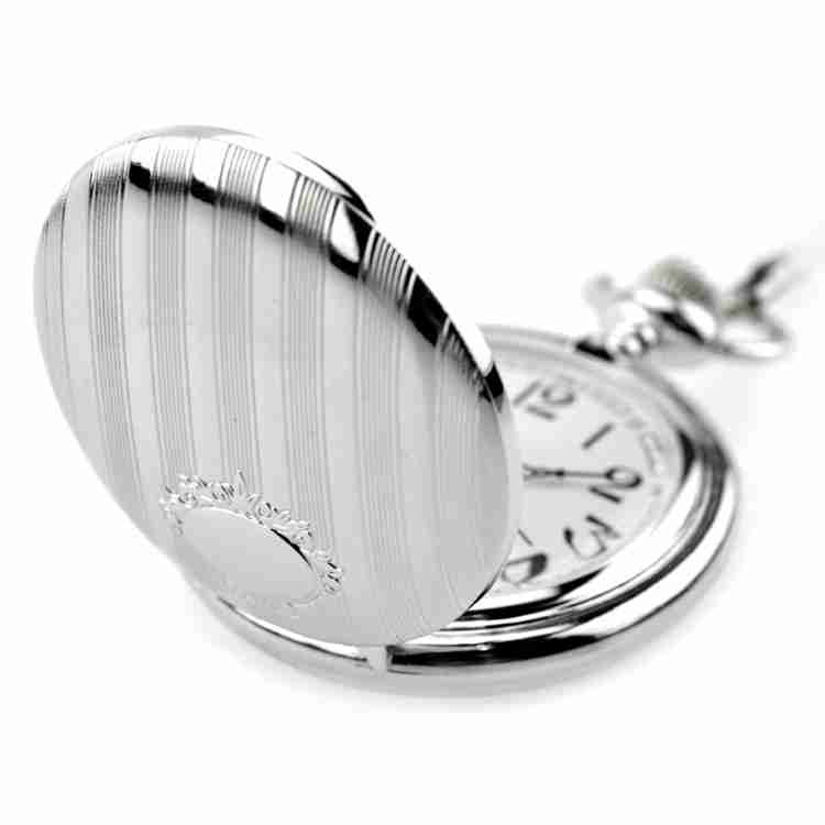Fashion-Modern-High-Quality-Silver-Quartz-Pocket-Watch-With-Pendant-Chain-Men-Womens-Watches-Gift (2)