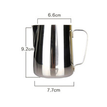 Hot Selling High Quality 350ML Stainless Steel Espresso Coffee Pitcher 12 oz Kitchen Home Craft Coffee Latte Milk Frothing Jug