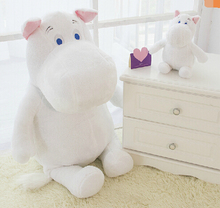 Genuine 100cm Moomin Hippo Plush Toy Stuffed Doll little fertilizer valentine Park Spring bom Gifts for Children