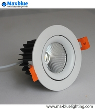 High Quality CREE COB Dimmable LED Downlight 9W 12W CRI 80+Ra LED COB Downlight Spot Recessed Down Light Lamp(China)