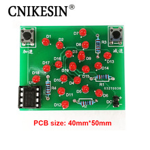 CNIKESIN DIY Kits Electronic Windmill Singlechip DIY Kit of Parts Handmade Adjustable speed(China)