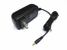100pcs/lot AC Adapter Rapid Charger for Sylvania Portable Dvd Player Power Supply Cord