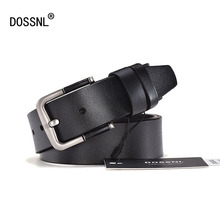 DOSSNL High Quality Genuine Leather Girdle Luxury Designer Belts Men New Fashion Strap Male Jeans Man Cowboy Waistband Men A033(China)