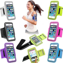 Sports Running Case for iPhone 6 6S Plus 7 Plus 5 5S 5C SE Case Cover PU Leather Washable Jog Sport Arm Band Gym Phone Bag Cases