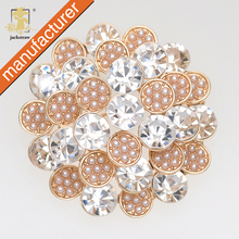 Rushed Pin High Quality!china Wholesale New Fashion Handmade Luxury  Flower Cheap Brooch Rhinestone For Women