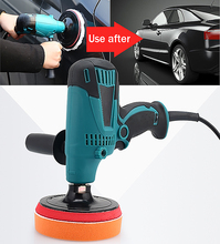 Car Polisher Variable Speed Car Paint Care Tool Polish Sander 220V Car Wax Electric Floor Polisher(China)