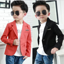new Clothing male child casual suit jacket small formal dress top suit 2017autumn kids coat baby clothing Boys Suit jacket