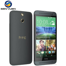 "Original HTC ONE E8 Unlocked Mobile Phone Quad-core 5.0"" Screen 2GB RAM 16GB ROM 13.0MP Camera Android Wifi GPS cell phone(China)"