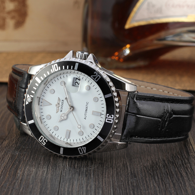 Military Style Watches Men Made In From Original Winner Factory With Automatic uhren