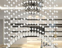 Crystal bead curtain diamond cut surface partition porch door curtain curtain bedroom 20 between the new size 0.7 1 m