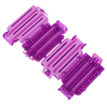 45pcs/set Plastic Hairdressing Magic Hair Curlers Rollers Home Use DIY Creative Spiral Curler Hair Roller Curling Styling Tools(China)