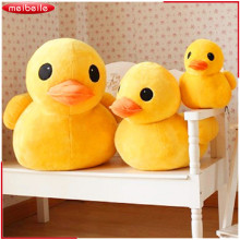 New Hot Sale Plush Stuffed Toys Big Yellow Duck Plush Stuffed Duck Doll for Children Cotton Soft
