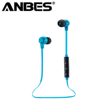 Earphone Bluetooth Headset Sport with Mic Wireless Stereo V4.0 Earbuds Handsfree For Samsung iPhone Sony PC Wireless Headphones(China)