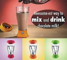 The Skinny Moo Mixer Battery-Operated Chocolate Milk Mixer Cup Automatic Cow Coffee Mug Mixer