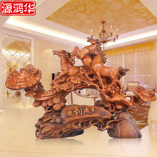home decoration accessories large source of Ma ornaments shop decoration high-grade office resin crafts
