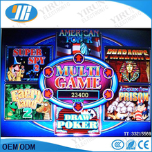 Multi 6x poker game board slot game PCB casino pcb board gambling machine pcb(China)