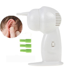 New Arrival Mobility Safe ELECTRIC CORDLESS WAX EAR CLEANER Auto REMOVER VACUUM Painless EARP ICK Good Quality(China)