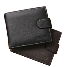 Buy Hot Sale Bussiness Wallet Men Leather Wallets Male Coin Purse Credit Card Holder Male Purses Pocket Billfold Maschio Clutch for $5.89 in AliExpress store