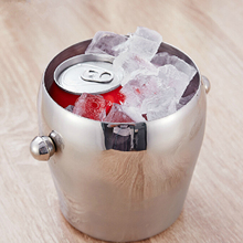 Behokic 1L Ice Bucket Bar Pub Wine Beer Champagne Whisky Cooler Bottle Ice Cubes Bucket Container with Handle balde de gelo