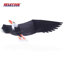 TELECOOL 3D Eagle Birds Kite Toy Outdoor Fun Sports Desert Eagle Toy For Kids Tour Suburb Camping With Flying Tools