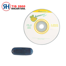 Top 2016 Lowest Price TIS2000 CD and USB KEY for GM TECH2 for GM Car Model for GM TIS2000 TIS 2000 Software USB dongle(China)