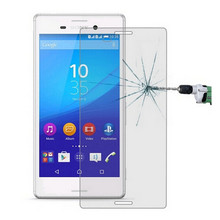 Tempered Glass For Sony Xperia M4 Aqua / M4 / E2303 Dual E2312 Screen Protector 9H Protective Film Guard