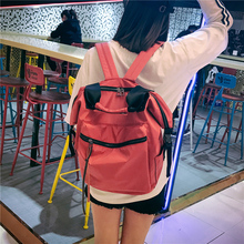 2017 New School Backpack Women Laptop Schoolbag Large Capacity Youth Fashion Bags for Teenagers Girls Feminine College Student(China)