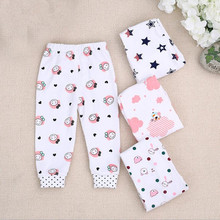 PP Pants 4 Pieces 1 Lot Baby Trousers Kid Wear brand Baby Pants Cartoon Boy Girl Infant Toddlers Clothing Creppers Cotton Pant(China)