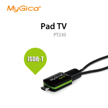 isdb t receiver Geniatech MyGica Pad TV tuner Watch  ISDB-T or DVB-T on Android Phone/Pad PT230 usb tv tuner
