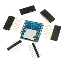 New Arrival Micro SD Card Shield For WeMos D1 Mini TF WiFi ESP8266 Compatible SD Wireless Module For Arduino(China)