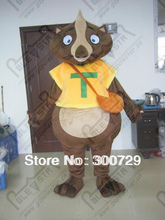export high quality brown squirrel mascot costumes Scrat costumes small wild animal costumes(China)