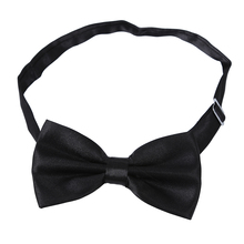 Satin Tuxedo Cummerbund+Bow Tie +Hanky Set Prom Wedding Black(China)