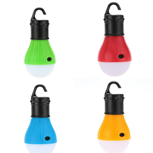 Portable Hanging Tent lamp Emergency LED Bulb Light Camping Lantern for Mountaineering activities Backpacking 3xAAA batteries(China)