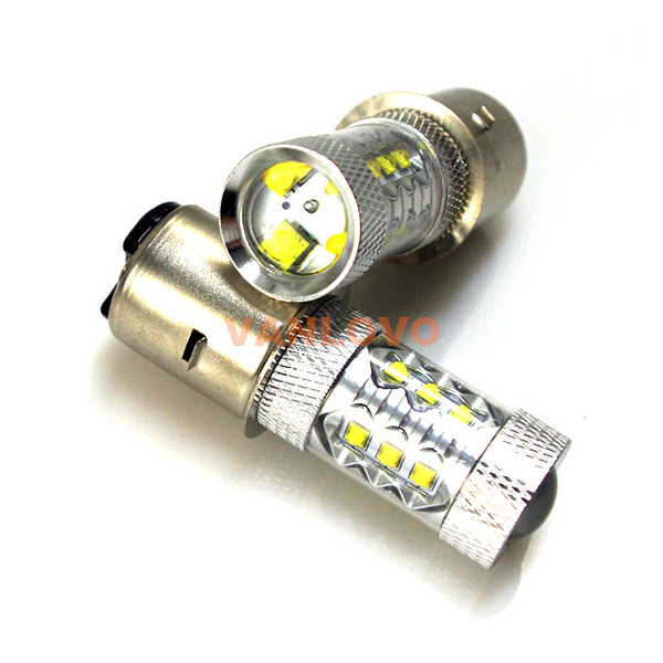 2x 1157 BAY15d P21/5W 80W LED Brake Stop Tail Light Bulbs BRIGHT WHITE<br>