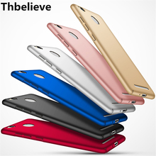 Thbelieve 328 Matte Phone Case For Redmi 3 3s redmi3s Hard Cover Black Coque Cover Good Touch Feeling Big Discount