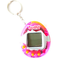 Puzzle Transparent Tamagochi Pet Virtual Digital Game Machine Nostalgic Cyber Electronic E-Pet Handheld toy Gift For Children