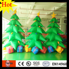 5m 16ft 4m 13ft inflatable led christmas tree ornament stand xmas ornaments new year gift set 420D Oxford 420D Oxford