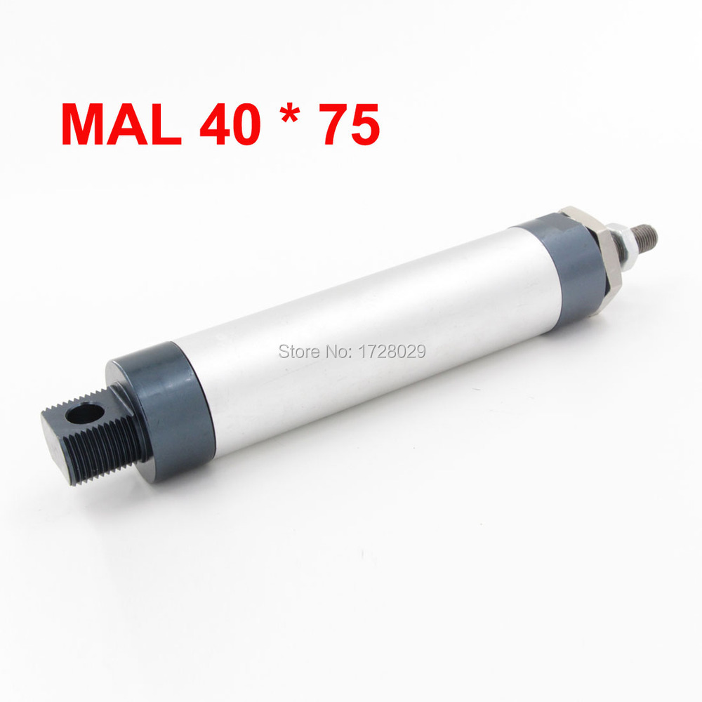 MAL Series 40*75 Single Rod Pneumatic Air Cylinder<br><br>Aliexpress