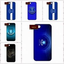 Everton FC Team Logo Cover case for iphone 4 4s 5 5s 5c 6 6s plus samsung galaxy S3 S4 mini S5 S6 Note 2 3 4  DE0077