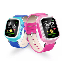 Children & students Safety Smart watch Touch & Button Big color screen LBS positioning SOS Call phone security watch English Q80(China)