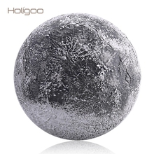 Holigoo Wall Moon Night Light Indoor Lighting LED Lamp With Remote Control Light Sensor Moon LED Night Light Decoration Bedroom