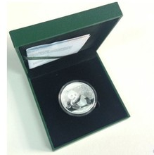 2004 Year Chinese Panda Silver Plated Coin 1 oz 10 Yuan Panda Coin Free Shipping with Original box without certificate
