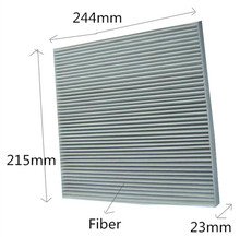 Free Shipping Manufacture High Quablity Fiber Car Cabin Air Filter OEM 52493319 for SATURN 215*244*23mm WIX24882