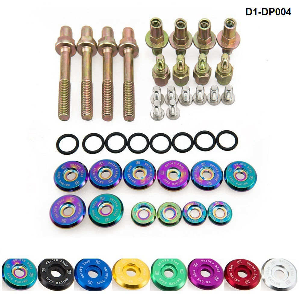 D1 Spec RACING Engine Valve Cover Washers Bolts Kit  For HONDA B-Series H-Series VTEC D1-DP004