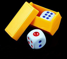Magic Dice Listening Dice Prediction Children Kids Free Shipping Magic Tricks Props Toys Colors ramdon YH117