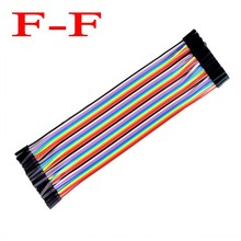 40pcs dupont cable jumper wire dupont line female to female dupont line 20cm 1P-1P IN STOCK