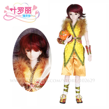 Night Lolita 1/3 BJD Doll 60cm 19 jointed dolls Sunny Boy Male dolls ( Free Eyes + Hair + Makeup + Clothes + Shoes ) DA001-13(China)
