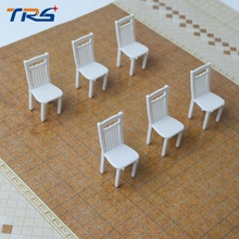 1/25 miniature chairs architecture construction sand table model scenery decoration plastic model toy(China)