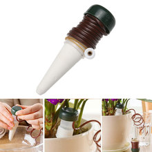 2Pcs Home Use Flower Pot Plants Automatic Drip Waterer Spike Drip Irrigation System Indoor Watering Kit Garden Supplies