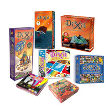 dixit  basic/quest/origins/journey/daydreams/memories board game multi instruction offered high quality, cards game
